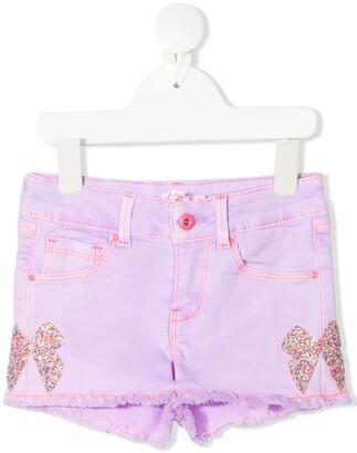 Billieblush Embellished Bow Shorts