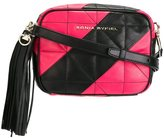 Sonia Rykiel quilted camera bag