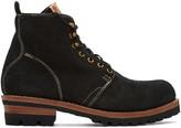 Visvim Black Folk Zermatt Boots
