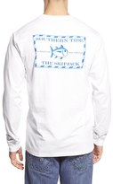Men's Southern Tide 'Skipjack' Long Sleeve Graphic T-Shirt