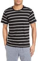 Daniel Buchler Peruvian Pima Cotton Stripe T-Shirt