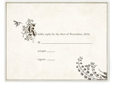 Minted Story Book RSVP Postcards