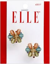Elle 2-Pack Small Stone Flower Jaw Clip