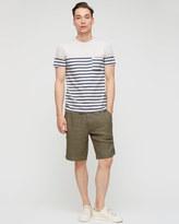 Garment Dye Linen Short