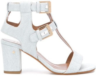 Laurence Dacade Helie 75mm denim sandals