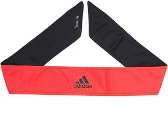 adidas Reversible Tennis Tie-Headband Black/Shock Red/White