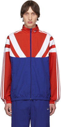 adidas Red and Blue BLNT 96 Track Jacket