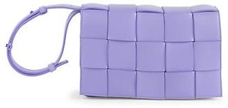 Bottega Veneta The Cassette Leather Crossbody Bag
