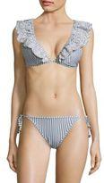 Zimmermann Meridian Striped Two-Piece Bikini