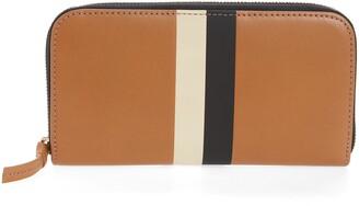 Clare Vivier Leather Zip Around Wallet