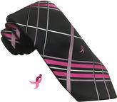 Asstd National Brand Susan G Komen Open Plaid Tie