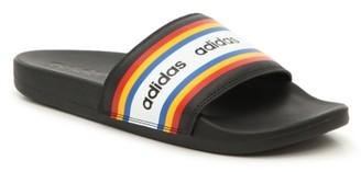 adidas Adilette Cloudfoam Ultra Stripes Slide Sandal - Women's