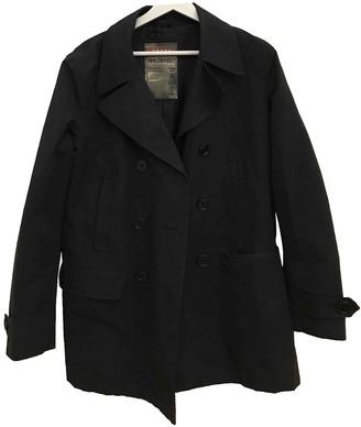 Prada Black Wool Trench Coat for Women