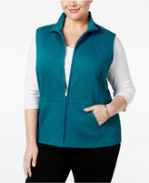 Karen Scott Plus Size Quilted Vest, Only at Macy's