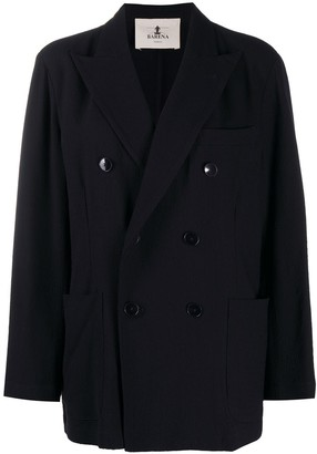 Barena Double-Breasted Fitted Coat