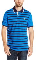 U.S. Polo Assn. Men's Striped Jersey Polo Shirt