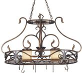 Kenroy Home Verona Lighted Pot Rack