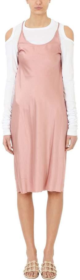 Alexander Wang Woven Pink Silk Dress
