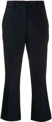 Barena Striped Flared-Leg Trousers