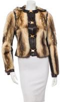 Dolce & Gabbana Fur Hooded Jacket