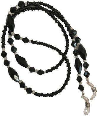 Eyewearstraps NEW Pretty Black & White Beaded Eye Glasses/Sunglasses Chain Strap Eyewear Holder