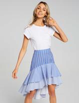 Dotti Riviera Ruffle Hi Lo Skirt