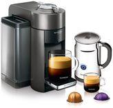 Nespresso Espresso Maker VertuoLine Graphite Metal Bundle
