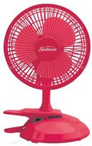Sunbeam Cool MeTM 6-inch Table/Clip Convertible Fan- Pink