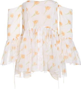 Rosie Assoulin Court Cotton Off-The-Shoulder Top