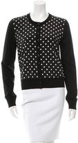 Dolce & Gabbana Polka Dot Wool Cardigan