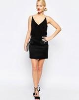 Love Moschino Starburst Button Pocket A-Line Skirt
