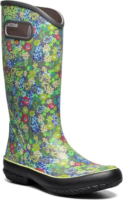 Bogs Night Garden Waterproof Rain Boot
