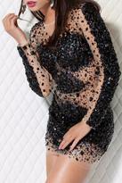 Jovani Short Black Dress