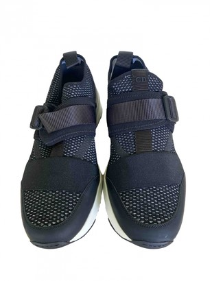 Christian Dior B22 Black Polyester Trainers