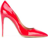 Salvatore Ferragamo Fiore pumps - women - Calf Leather/Leather/Patent Leather - 8