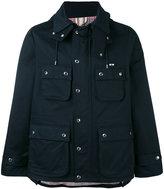 MAISON KITSUNÉ light-weight jacket - men - Cotton/Acetate/Viscose - M
