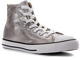 Converse Girls' Chuck Taylor All Star Metallic Canvas Hi PS/GS