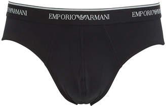 Emporio Armani Men's Essential Microfiber Briefs