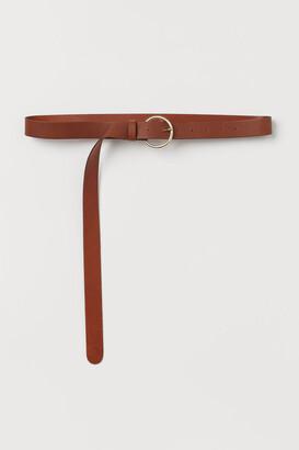 H&M Leather Belt - Beige