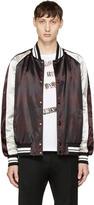 Valentino Red and Black Tartan Souvenir Jacket