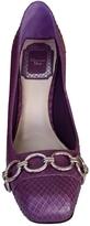 Christian Dior Purple Exotic leathers Heels