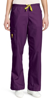 WONDERWINK Women's Scrubs Romeo 6 Pocket Flare Leg Pant