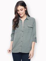 Splendid Laguna Tencel Long Sleeve Shirt