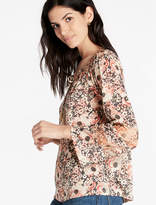 Lucky Brand Floral Woven Mix Peasant