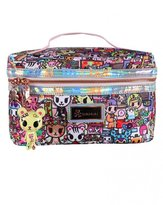 Tokidoki Kawaii Metropolis Train Case (Travel Cosmetic Case)