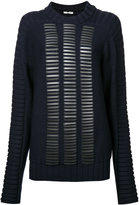 Donnah Mabel - studded trim jumper - women - Wool - 0