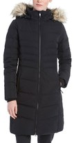 Lole Women's 'Katie' Quilted Parka With Faux Fur Trim