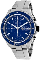 Tag Heuer CAK2112BA0833 Men's Aquaracer Silver Stainless Steel Chronograph Watch