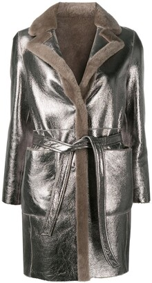 Blancha Reversible Leather Jacket