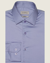 Le Château Stretch Cotton Sateen Slim Fit Shirt